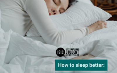 How to sleep better: 5 tips for students