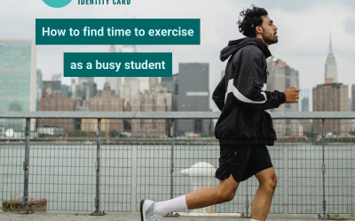 How to find time for exercise as a busy student