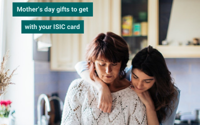 Mother's day gifts to get with your ISIC card