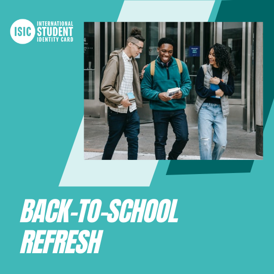 ISIC Back-to-School Campaign 2021!